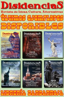 REVISTA DISIDENCIAS :: Ultimos ejemplares disponibles