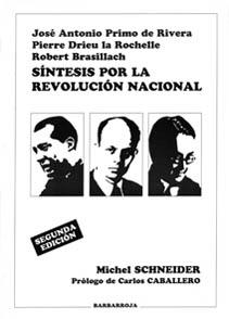 SÍNTESIS POR LA REVOLUCIÓN NACIONAL